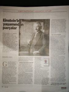 """""""Einstein'ın yaşamından parçalar"""""""