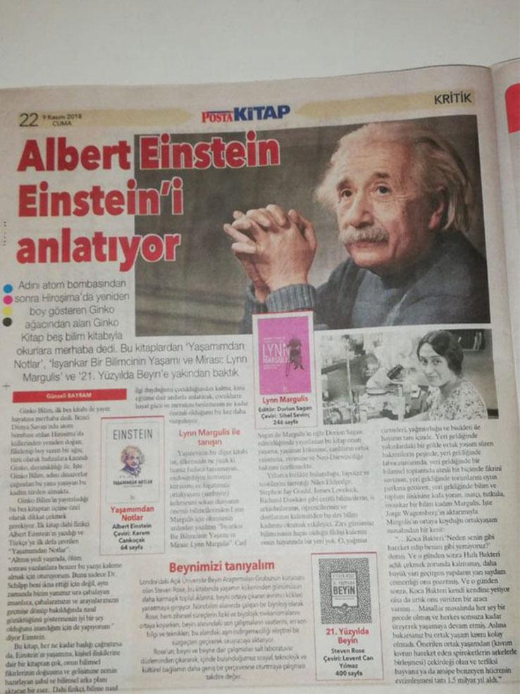 """Albert Einstein, Einstein'ı anlatıyor"""